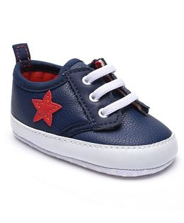 Mothercare Shoes Style Booties - Navy Blue