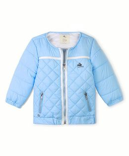 Cherry Crumble California Premiuim Lightweight Barn Jacket - Light Blue