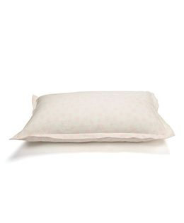 The Baby Atelier Organic Cotton Dots Junior Pillow Cover Without Filler - White & Pink