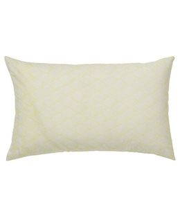 The Baby Atelier Organic Cotton Zig Zag Junior Pillow Cover Without Filler - Yellow