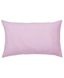 The Baby Atelier Organic Cotton Zig Zag Junior Pillow Cover Without Filler - Pink