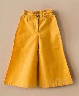 Tiber Taber Classic Culottes Pants - Yellow