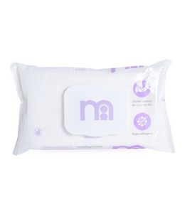 Mothercare Fragrances Wipes Purple - 60 Pieces