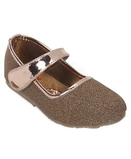 Spring Bunny Stylish Glitter Shoes - Copper
