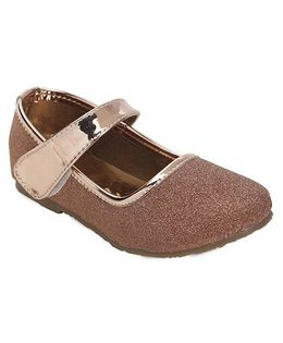 Spring Bunny Stylish Glitter Shoes - Brown