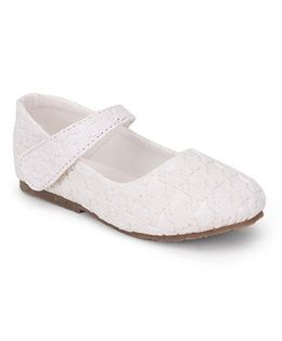Spring Bunny Jigsaw Shoes - White