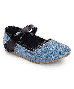 Spring Bunny Glittery Shoes - Blue