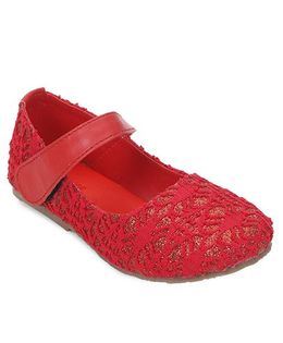 Spring Bunny Stylish Shoes - Red