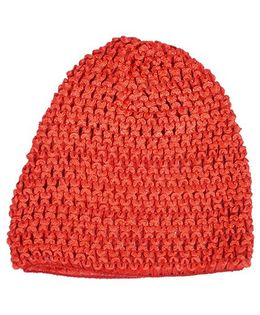 Miss Diva Super Soft Crochet Cap - Red