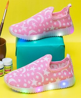 Little Maira Led Shoes - Pink
