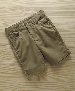 UCB Denim Shorts With Pockets - Light Brown