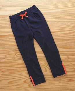 UCB Full Length Solid Colour Track Pant - Navy