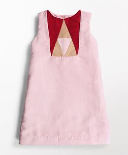 MilkTeeth Prism Design Dress - Pink