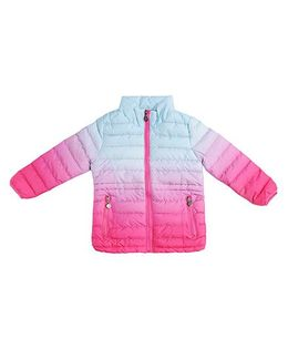 One Friday Girls Padded Jacket - Pink