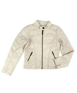 One Friday Full Sleeve Textured Jacket - Silver