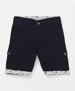 Holy Brats Fold Up Shorts - Navy
