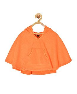 Pspeaches Hooded Jacket - Orange