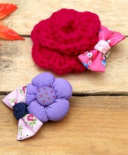 D'chica Adorable Set Of 2 Hair Accessories - Multicolor