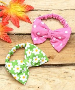 D'chica Set Of 2 Chic Hair Accessories - Multicolor