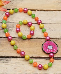 D'chica Adorable Bead Jewelry Set - Multicolor