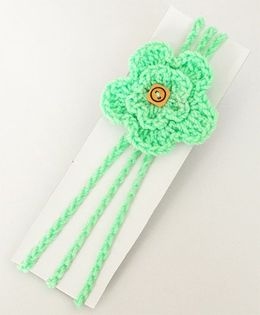 Love Crochet Art Handmade Flower Design Headband - Pista