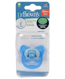 Dr. Brown's Prevent Classic Shield Pacifier Stage 3 - Blue