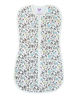 Happy Kids Smart Swaddle - White