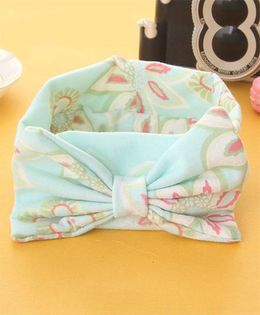 Little Miss Cuttie Trendy Headwrap - Mint Green