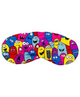 The Crazy My Eye Mask Monster Print - Multi Colour