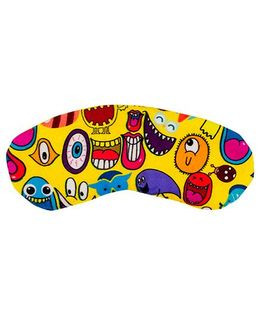 The Crazy My Eye Mask Quirky Print - Multi Colour