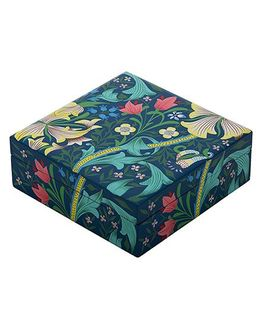 The Crazy Me Wooden Jewellery Box Nature Print - Multi Colour