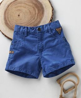 Little Kangaroos Solid Colour Shorts - Royal Blue