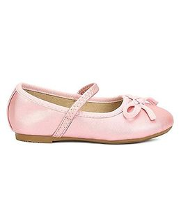 My Lil Berry Bow Ballerinas - Pink