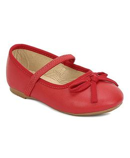 My Lil Berry Bow Ballerinas - Red