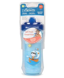 Dr. Brown's Hard Spout Insulated Cup Blue - 300 ml