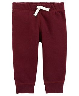 Carter's Pull On Pants - Maroon