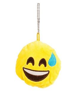 The Crazy Me Emoji LOL Key Chain - Yellow