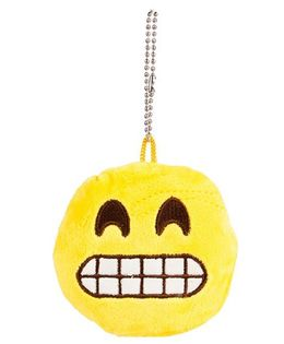 The Crazy Me Emoji Oops Key Chain - Yellow