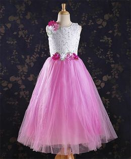 M'PRINCESS Sequence Work Party Wear Dress - Pink