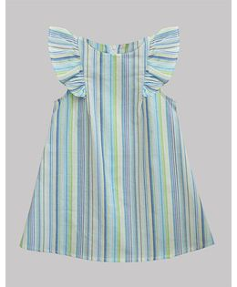 A.T.U.N Morning Poppy Rebecca Dress - Sky Blue
