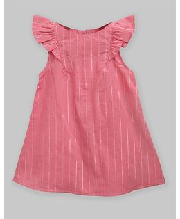 A.T.U.N Flamingo Stripe Rebecca Dress - Pink