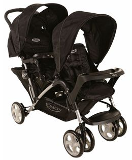 Graco Twin Stroller - Black