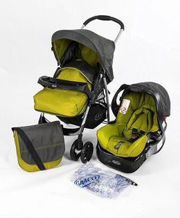 Graco Candy Rock Travel System - Rock Lime