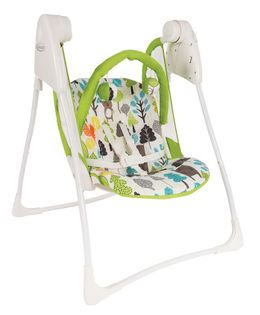 Graco Baby Delight Swing Bear Print - White Green