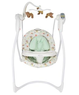 Graco Loving Hug Swing With 6 Speeds - White