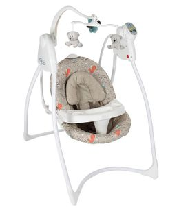 Graco Loving Hug Woodland Walk Baby Swing Animal Print - Beige