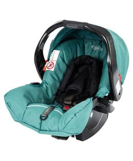Graco Car Seat Cum Carry Cot - Green Black