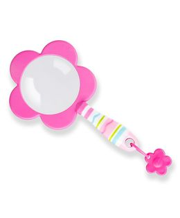 Melissa and Doug Flower Magnifying Glass - Pink