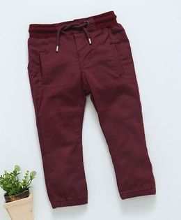 Memory Life Solid Full Length Bottom - Maroon