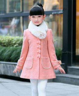 Pre Order - Awabox Solid Front Button Closure Coat - Pink